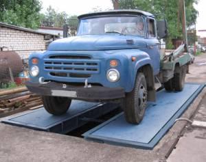 Автомобильные весы поосного взвешивания ВСУ-Т30000-1В5