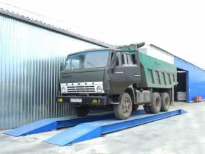 Автомобильные весы поосного взвешивания ВАЛ-М-30-6,0